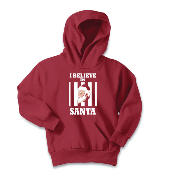I Believe In Santa Youth Hoodie - NashvilleTN Instagram