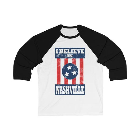 IBIN - 3/4 Sleeve Baseball Tee - NashvilleTN Instagram