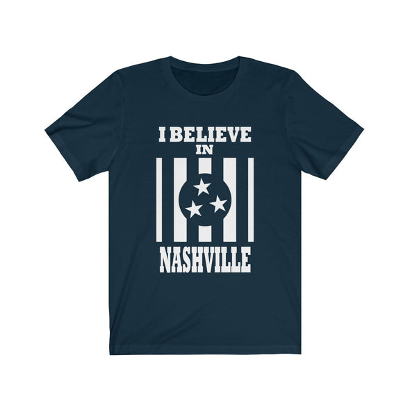 I Believe In Nashville - Navy Shirt - NashvilleTN Store