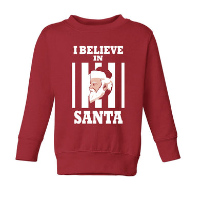 I Believe In Santa Toddler Sweater - NashvilleTN Instagram