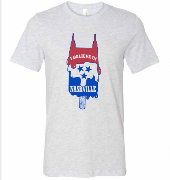 I Believe In Nashville Popsicle Shirt - NashvilleTN Store