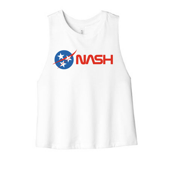 NASH Space Crop Tank - NashvilleTN Instagram