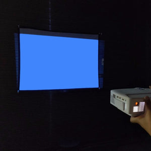 MyMiniProjector Home Theater Screen