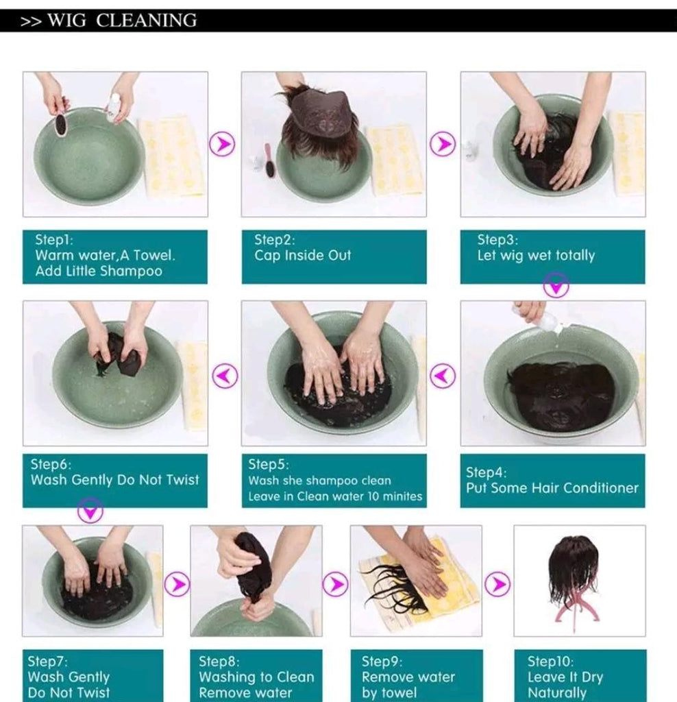 How to clean your wigs