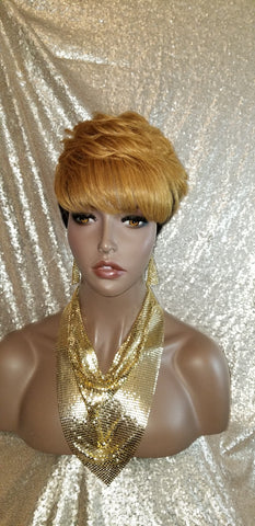Pixie Cut Remy Human Hair Wig