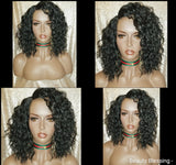 Pineapple Loose Wave Heat Resistant  Premium Fiber Hair Pre Cut Lace Fashion Wig