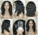 Curly Virgin Remy Unprocessed Human Hair Lace Wig
