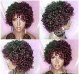Body Curl Mink Brazilian Remy 100%Human Hair Full Cap Wig