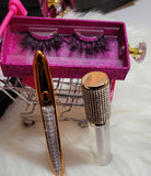 Eyelash Bundle gift set, lip gloss set, lash bundle, diamond glue eyeliner set,gift set.