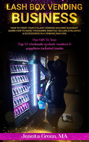 How To Start Your Eyelash Vending Machine Business-Lash Box Vending Machine Ebook