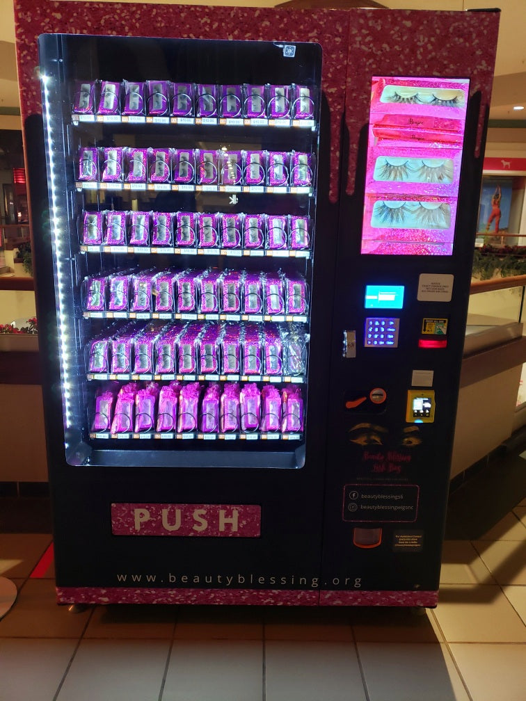 Brand Up Boss!  Own An Eyelash Vending Machine