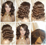 Big Loose Wave Premium Fiber Lace Part Wig