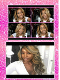 Celebrity Style Long Loose Wavy Curl Heat Resistant Fashion Lace Wig