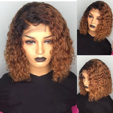 Brazilian Remy Human Hair Wig 13X6 Lace Front Wig Women Curly Wig Pre-plucked With Baby Hair