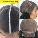 Body Wave 13x6 Lace Frontal Pre Plucked Brazilian Remy Human Hair Wigs Free Shipping