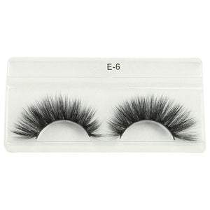 Wholesale Eyelashes Mink Lashes Natural Long Soft Thick Fluffy Fake Lashes Cruelty Free Makeup False Lashes