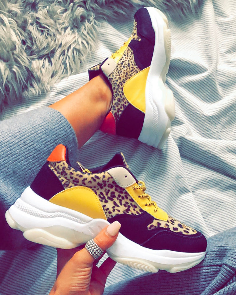 Faded Love Trainers in Leopard – Fearless