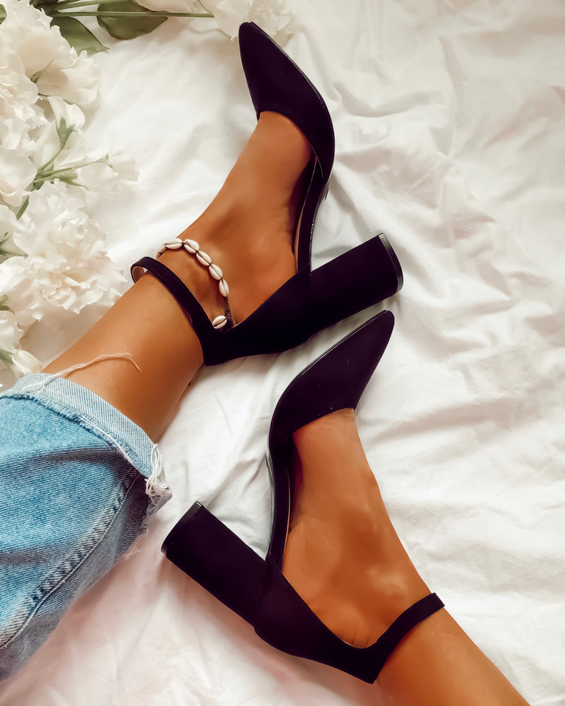 Picking It Up Heels in Black