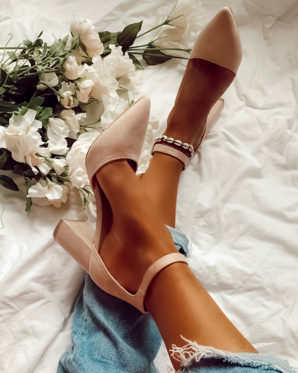 Picking It Up Heels in Nude