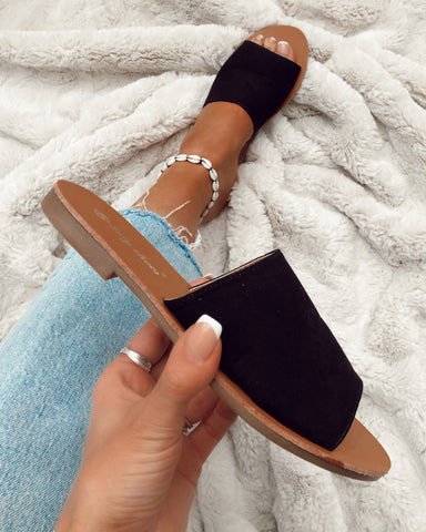 Show Stopper Bow Slides in Nude