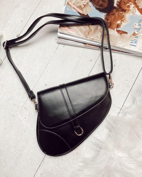 Ryder Black Saddle Bag