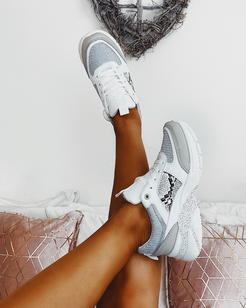 Into You Trainers White