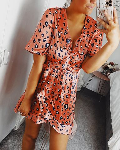 Jungle Fever Shirt Dress