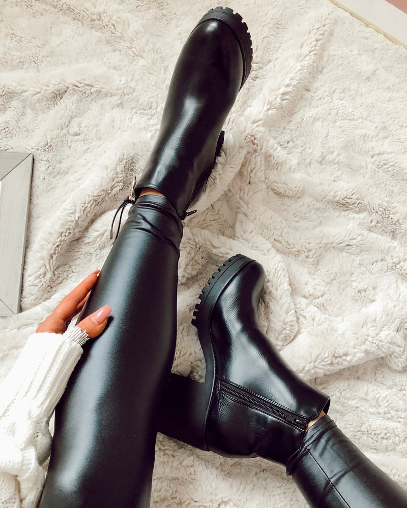 Open Options Tassel Boots