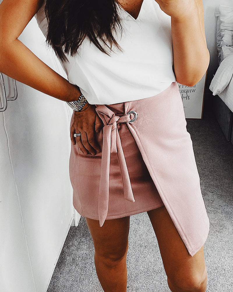 Penelope Skirt Blush Pink