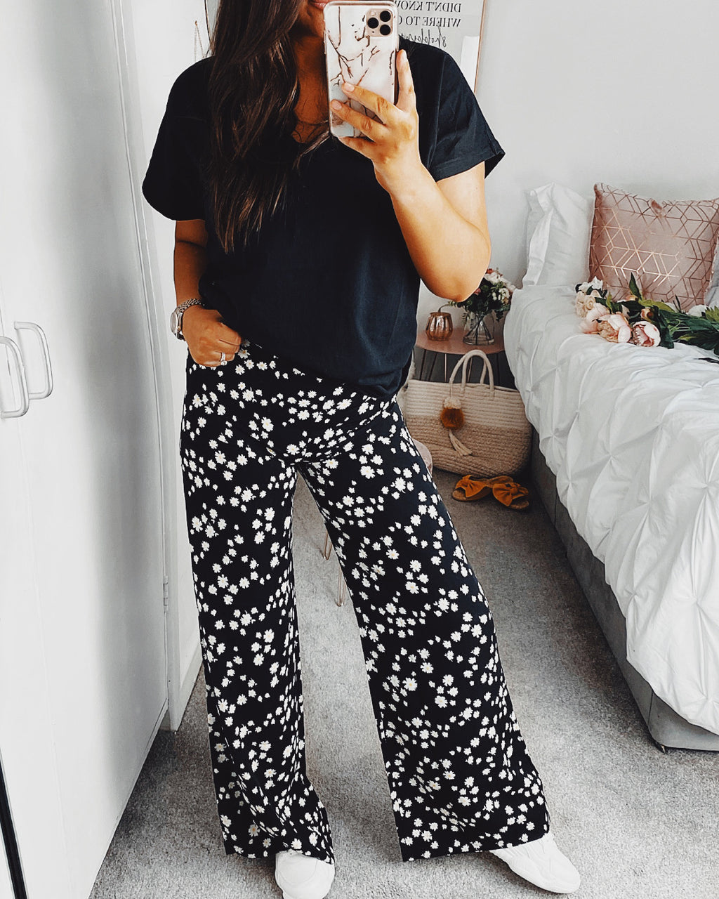 Wait for me Daisy Floral Trousers