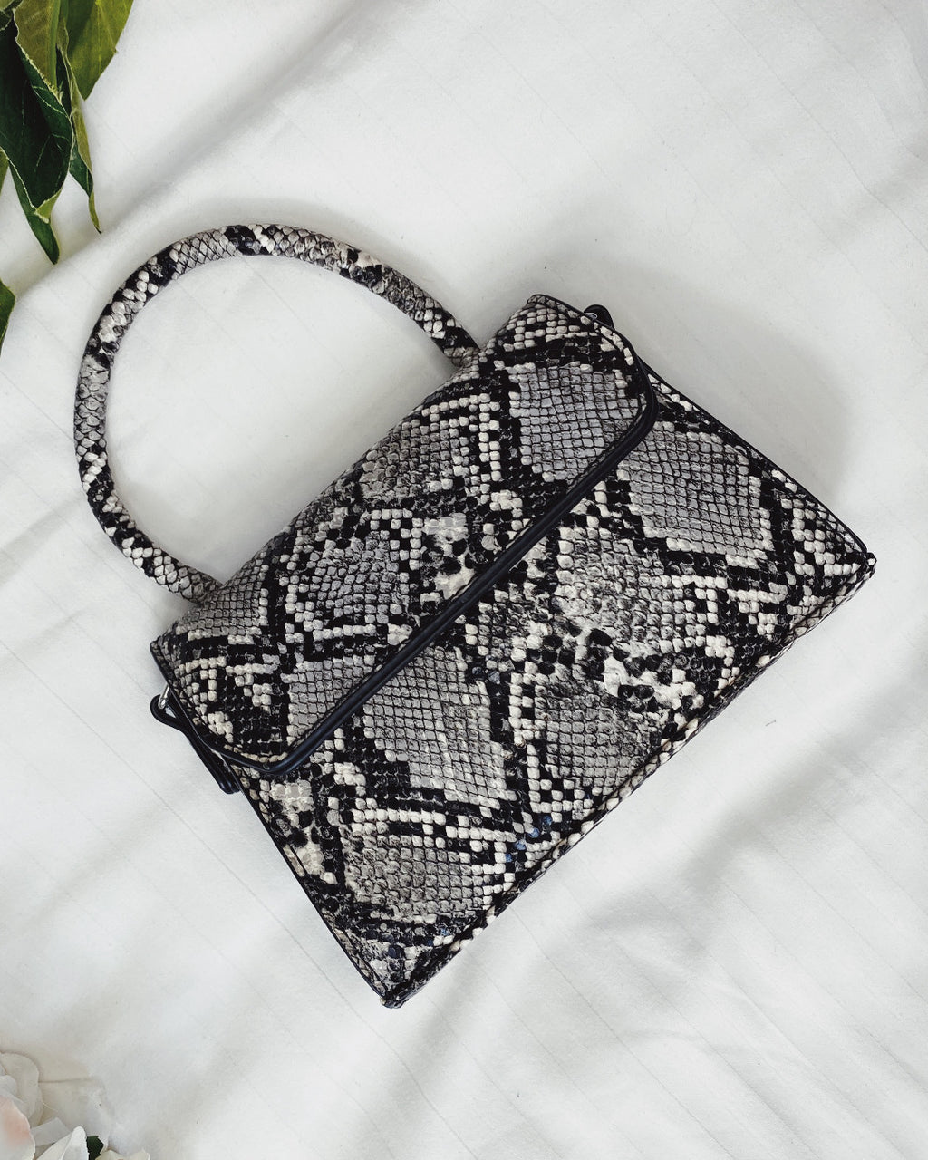 Stacey Snake Mini Bag