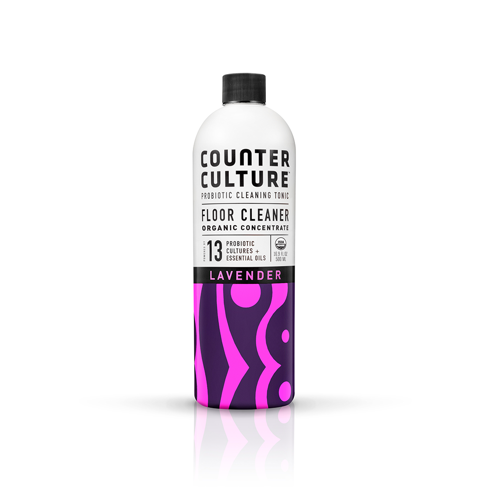 Lavender Floor Cleaner by Counter Culture Clean