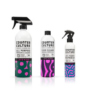 Lively Lavender Essentials by Counter Culture Clean