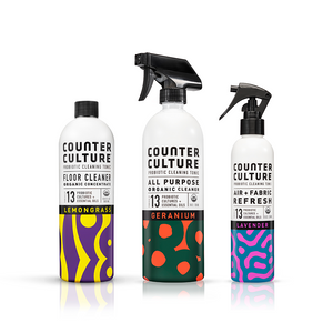 microbiHOME™ bundle by Counter Culture Clean