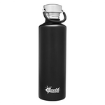 Black Water Bottle (750ml) | Cheeki