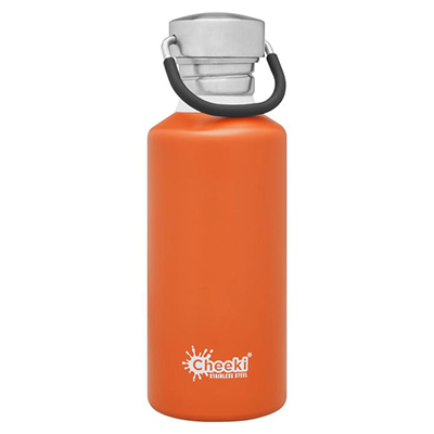 Orange Water Bottle (500ml) | Cheeki