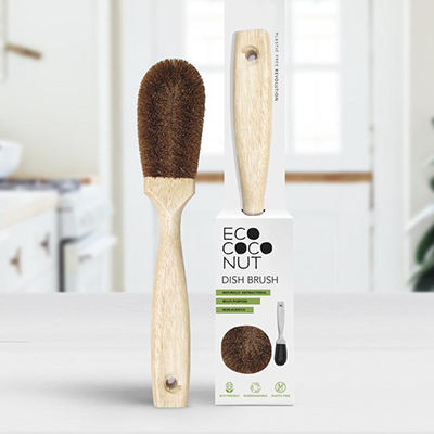 EcoCoconut Biodegradable Dish Brush
