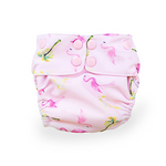 EcoNaps Reusable Swim Nappy - Pink Flamingo