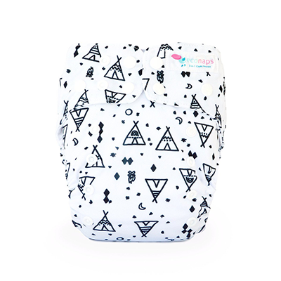 EcoNaps Reusable Cloth Nappy - Tipi Dreaming
