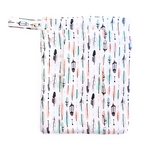 Double Pocket Wet Bag - Aztec Feathers | EcoNaps
