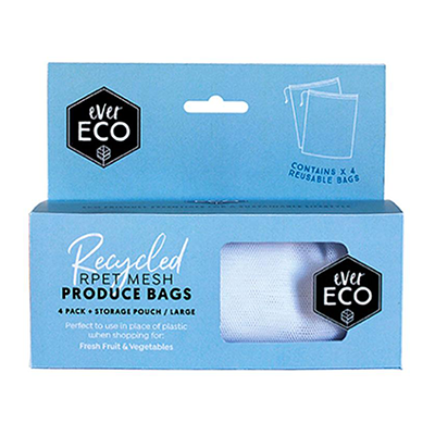 Mesh Produce Bags - 4pk | Ever Eco