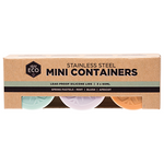 Mini Stainless Steel Food Containers | Ever Eco