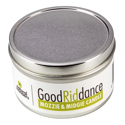 Mozzie & Midgie Soy Candle (225g Tin) | Good Riddance