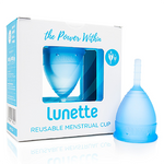 Lunette Menstrual Cup - Blue Model 1