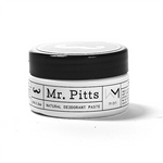 Mr Pitts Natural Deodorant Paste - Man