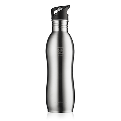 Onya Stainless Steel Water Bottle - Steel (750ml)