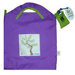 Onya Shopping Bag Small - Purple Tree