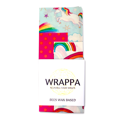 WRAPPA Beeswax Food Wraps - Unicorn