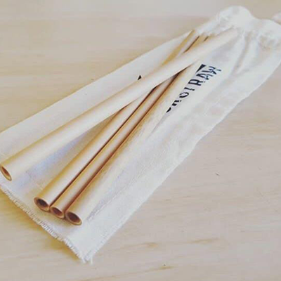 Bamboo Straws - Picnic (4pk) | Your Straw