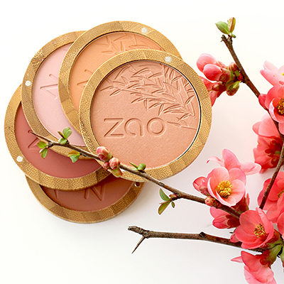 Compact Blush - Brown Pink | Zao Organics